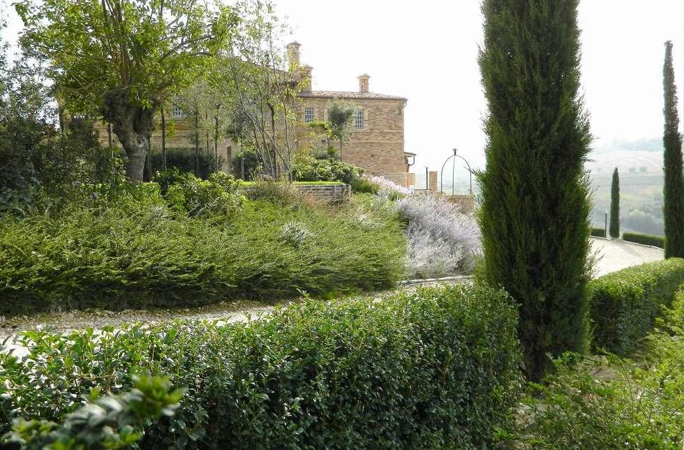 Idee arredamento casa interior design homify - Giardino di campagna ...
