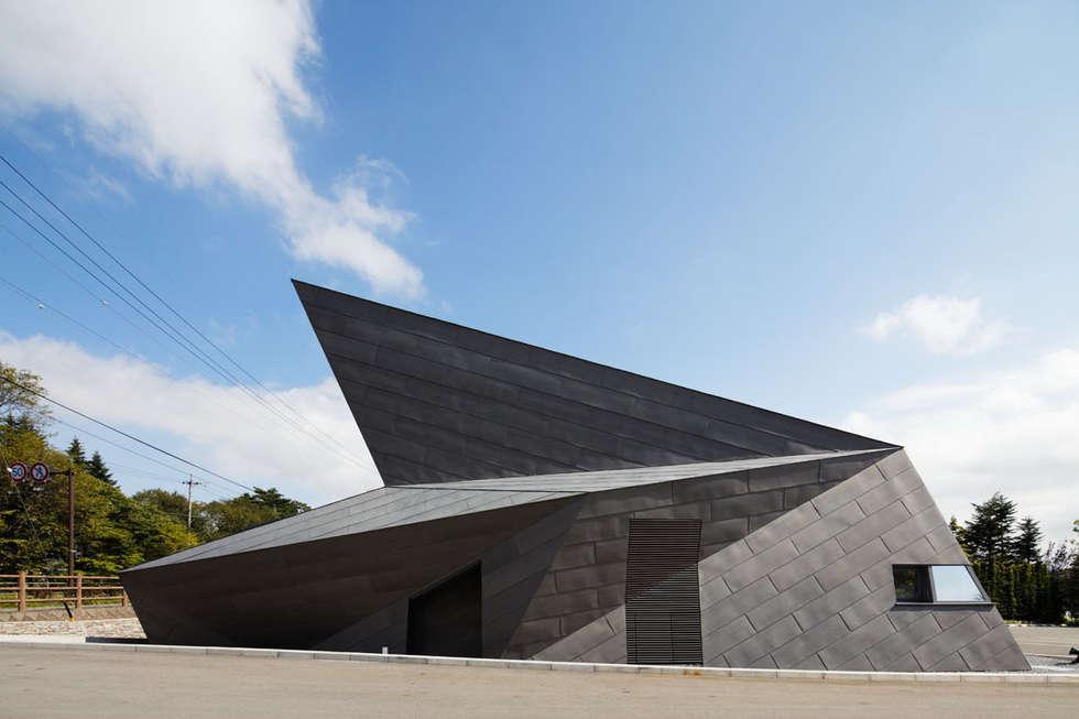 外観近景3: 株式会社 安井秀夫アトリエが手掛けた美術館・博物館です。