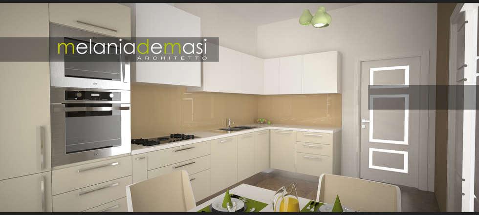 Light Kitchen: Cucina in stile  di melania de masi architetto