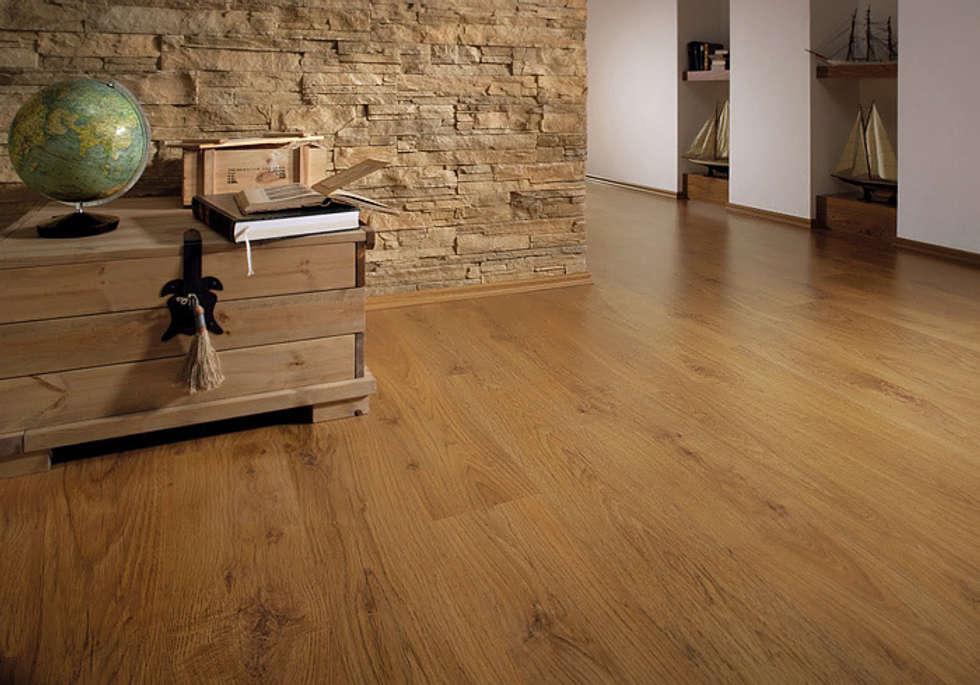 MEISTER 6065 Klick Laminat Laminatboden Eiche Antik Holz Nachbildung 1 Stab  Landhausdiele | 3
