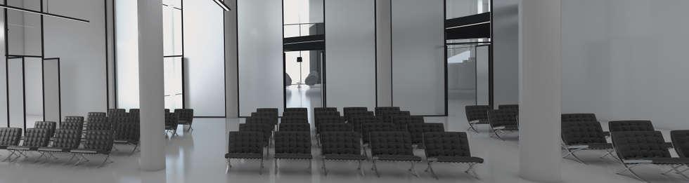 MEETING/ PARTY AREA: Hotel in stile  di FRANCESCO GENNARO Interior Design