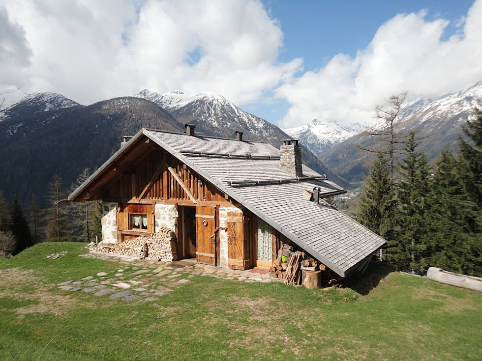 Ristrutturazione edificio rurale case in stile in stile for Homify case