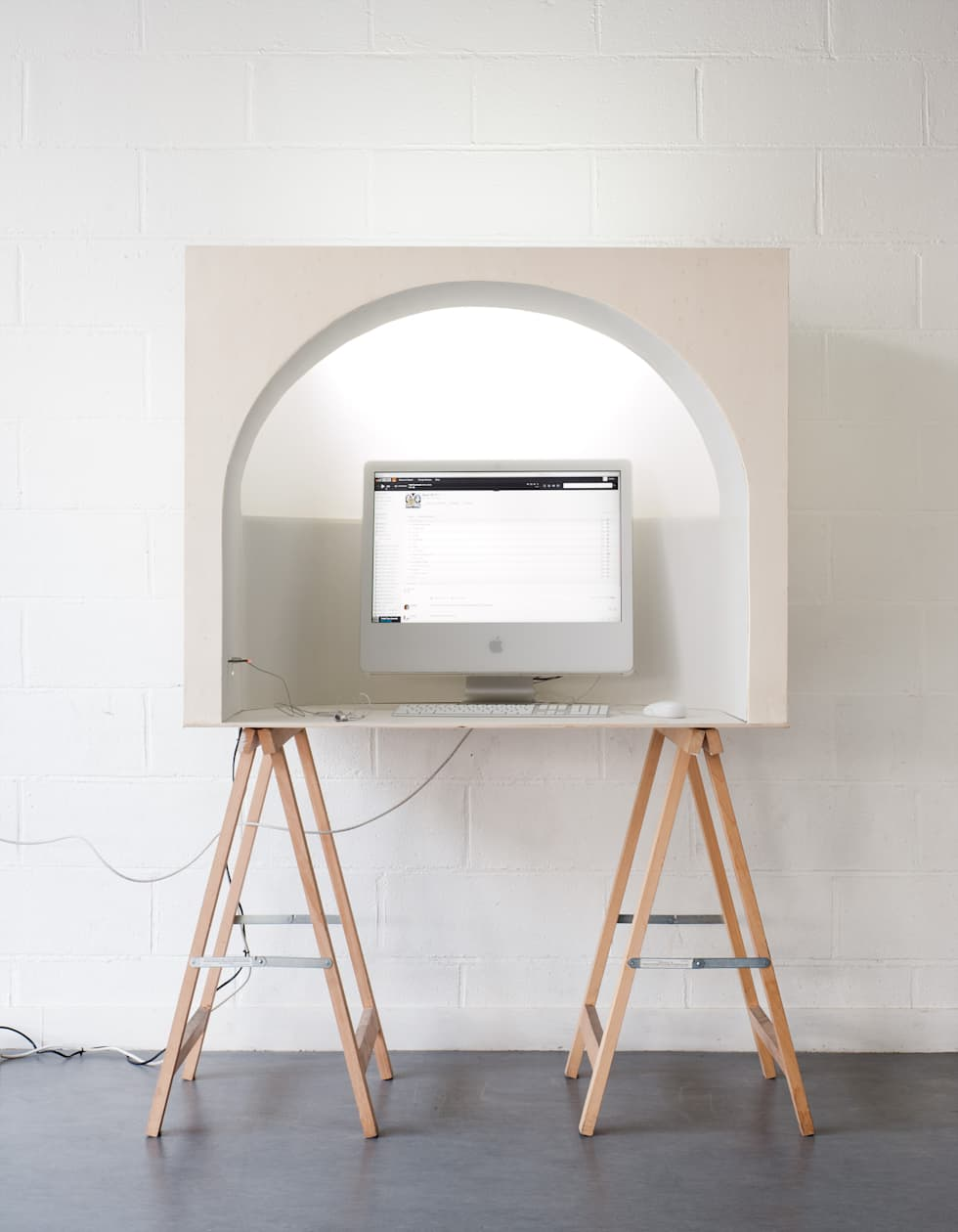 Alcôve : Bureau de style de style Minimaliste par Hadrien Fouin