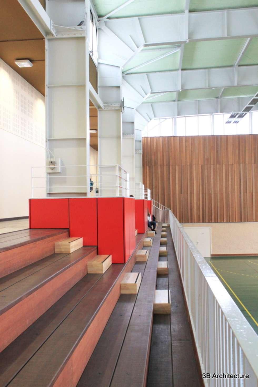 PMR Box: Stades de style  par 3B Architecture