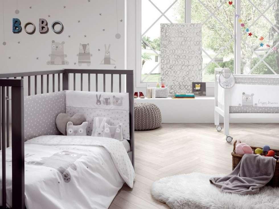 Dormitorios infantiles de estilo moderno de carmen homify homify - Mobiliario habitacion bebe ...