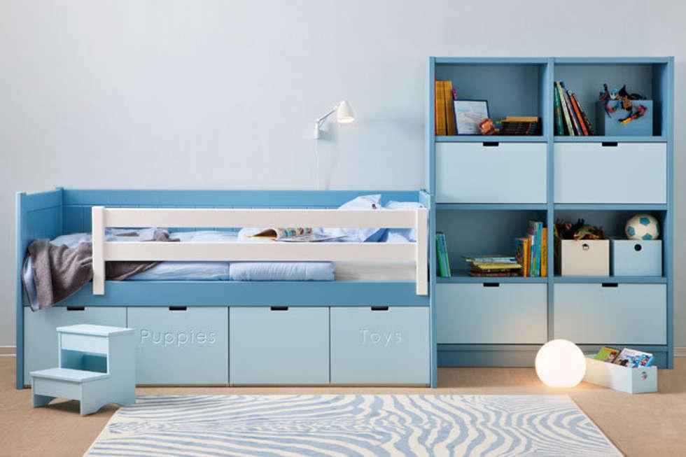 habitacin infantil con cama nido juguetero de nios de estilo de sofs camas cruces