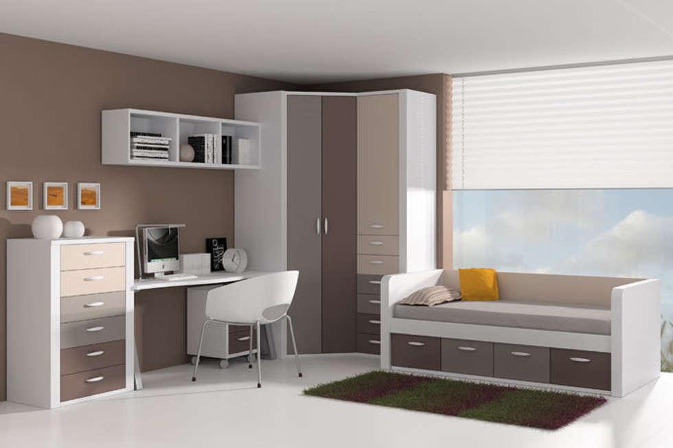 cama nido con frisos y cajones inferiores dormitorios infantiles de estilo moderno de sofs camas