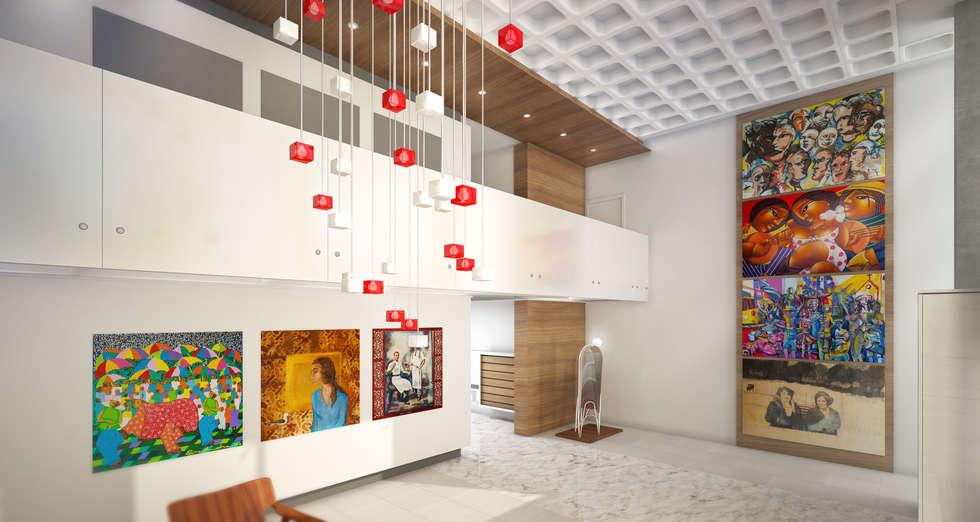 Hall de entrada de casas modernas mueble zapatero y for Espejo zapatero amazon