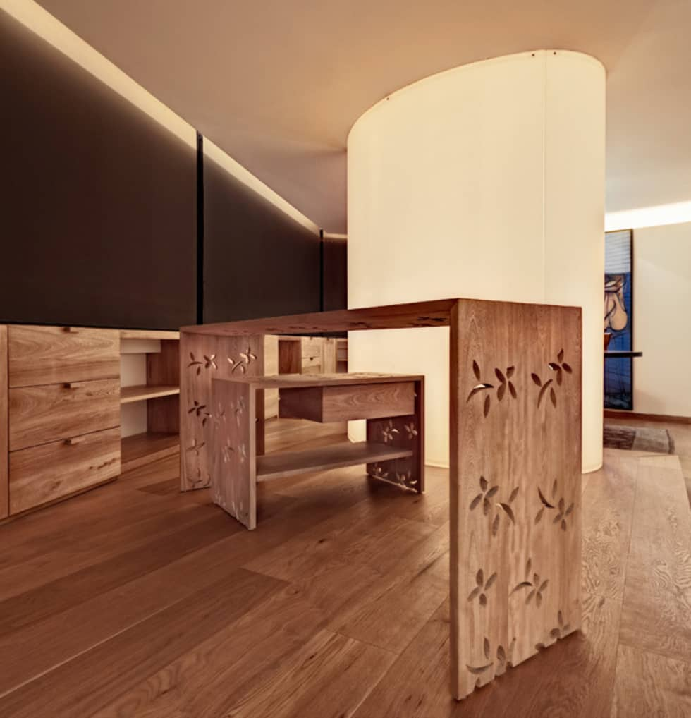 Departamento Polanco 1: Paredes de estilo  por Lopez Duplan Arquitectos