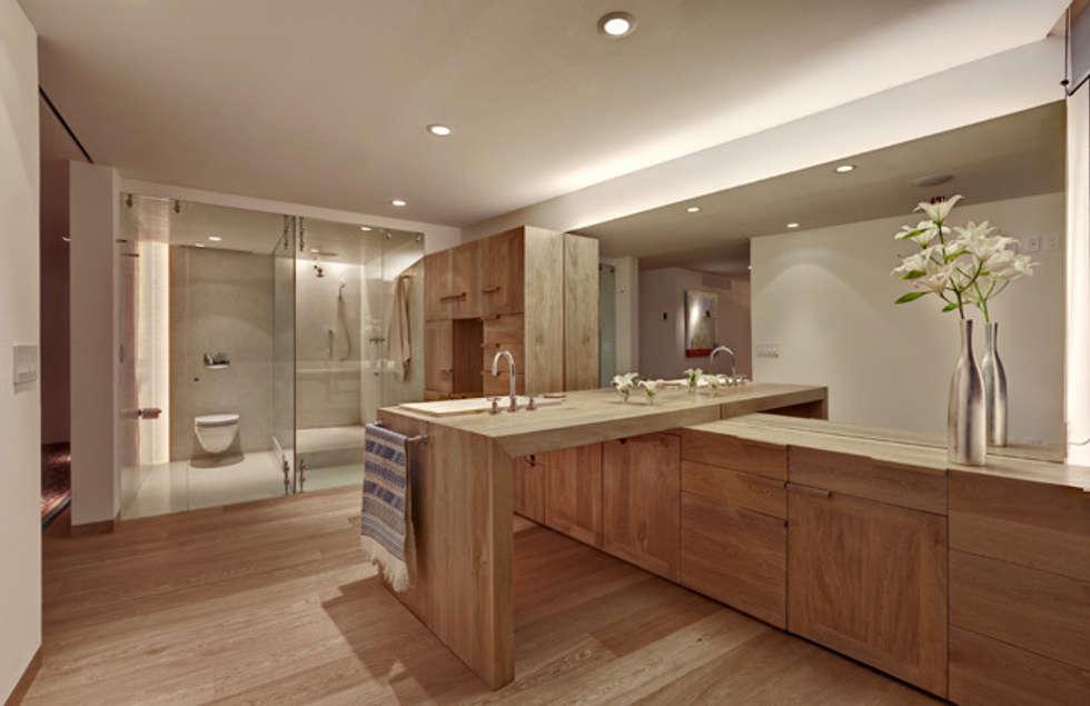 Departamento Polanco 1: Baños de estilo  por Lopez Duplan Arquitectos