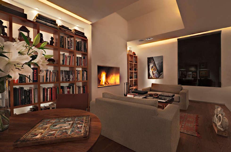 Casa Lomas Altas: Casas de estilo  por Lopez Duplan Arquitectos