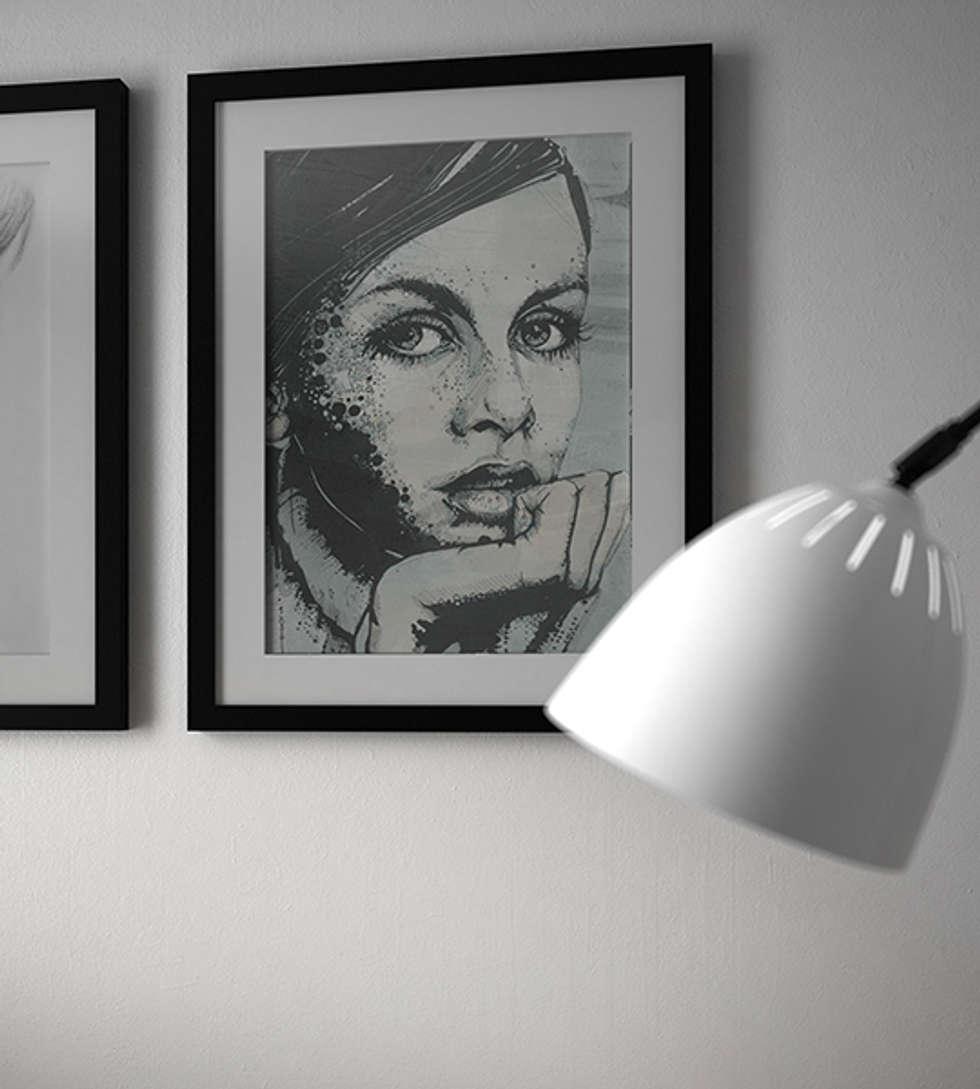 spot04_particolare soggiorno1: Soggiorno in stile in stile Moderno di Studiod3sign