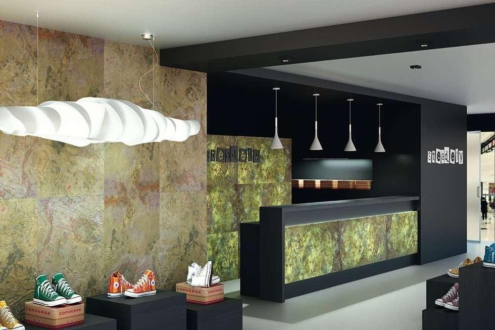 Designflex Translucide: Maisons de style de style Moderne par Naturamat