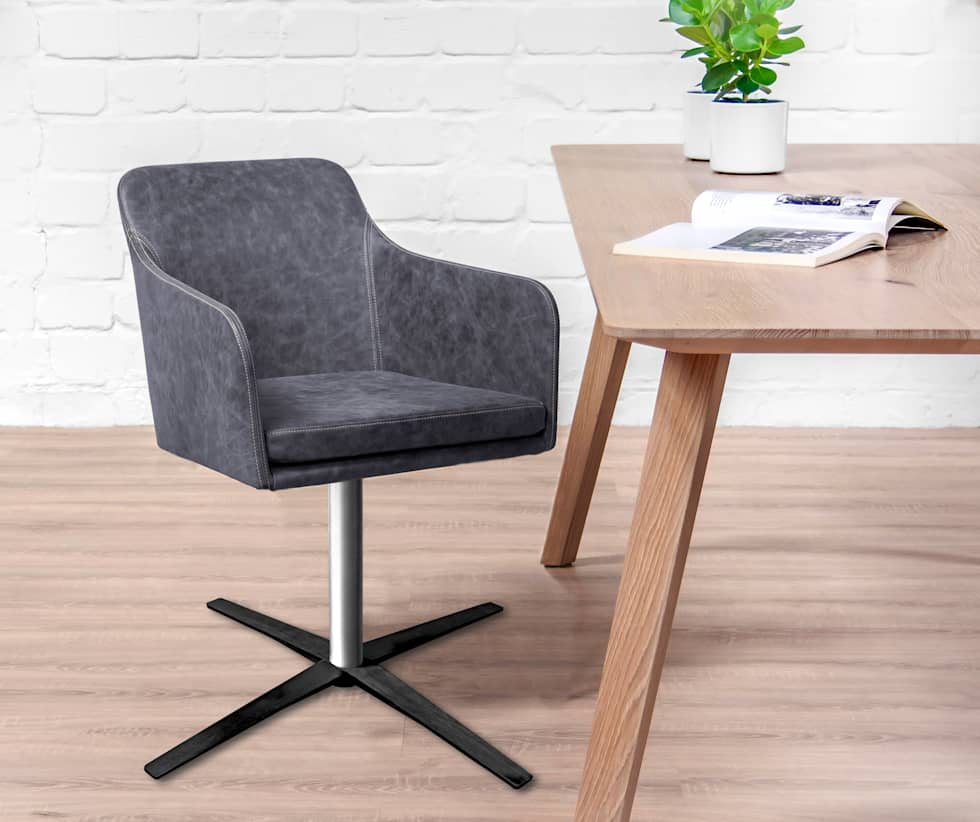 Schön Esszimmer Drehstuhl Mit Armlehne Foto Von Youma Armlehne: Moderne Von Kwik Designmöbel Gmbh