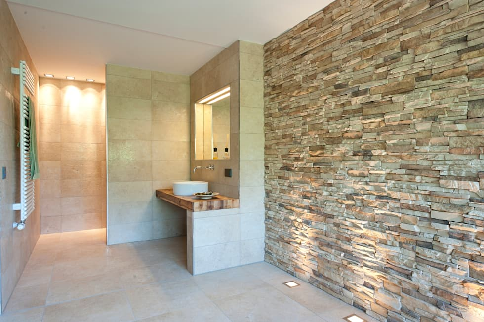 حمام تنفيذ Bau-Fritz GmbH & Co. KG