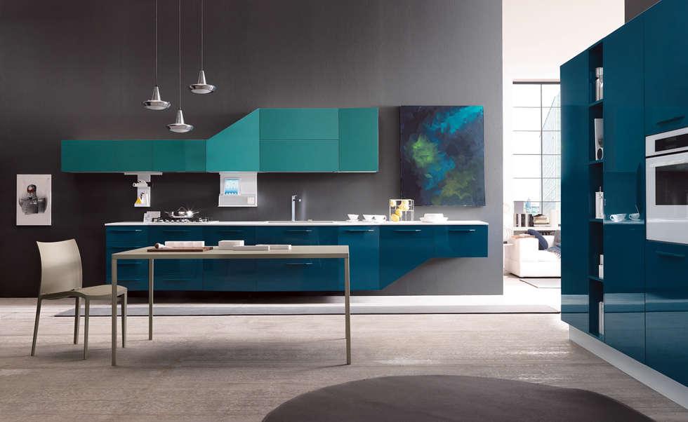 Alicante - Fashion & Design: Cucina in stile in stile Moderno di Matteo Beraldi Design Office