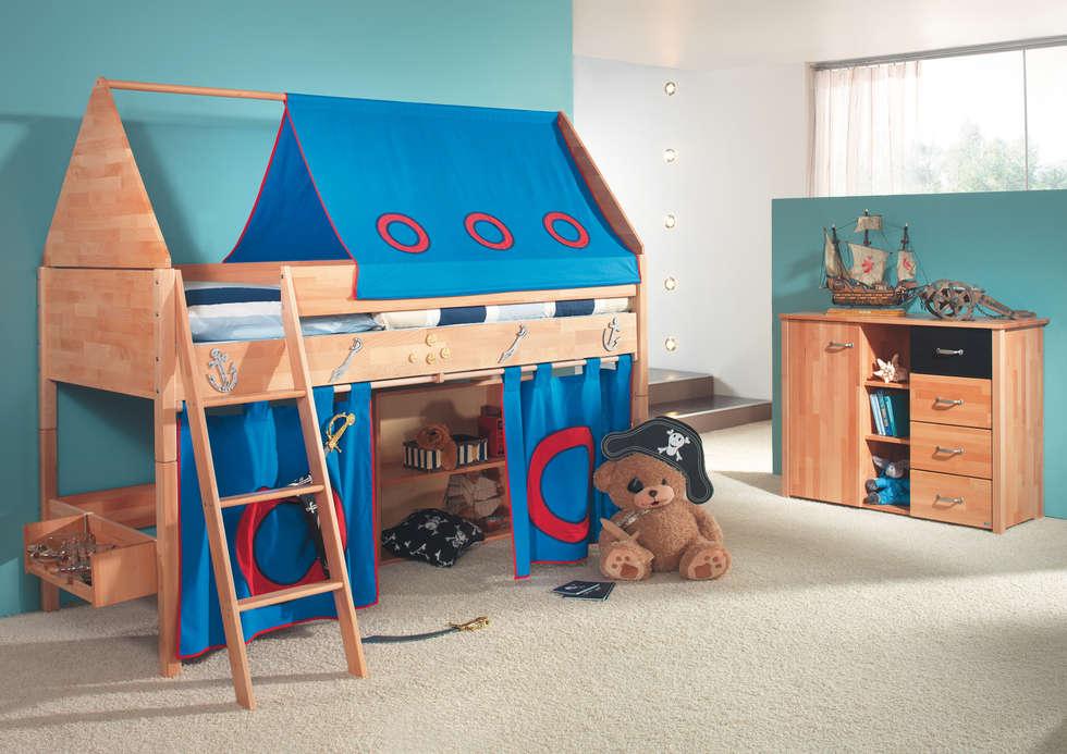 Jugendmöbel  Taube kinder- und jugendmöbel: eklektik tarz tarz çocuk odası ...