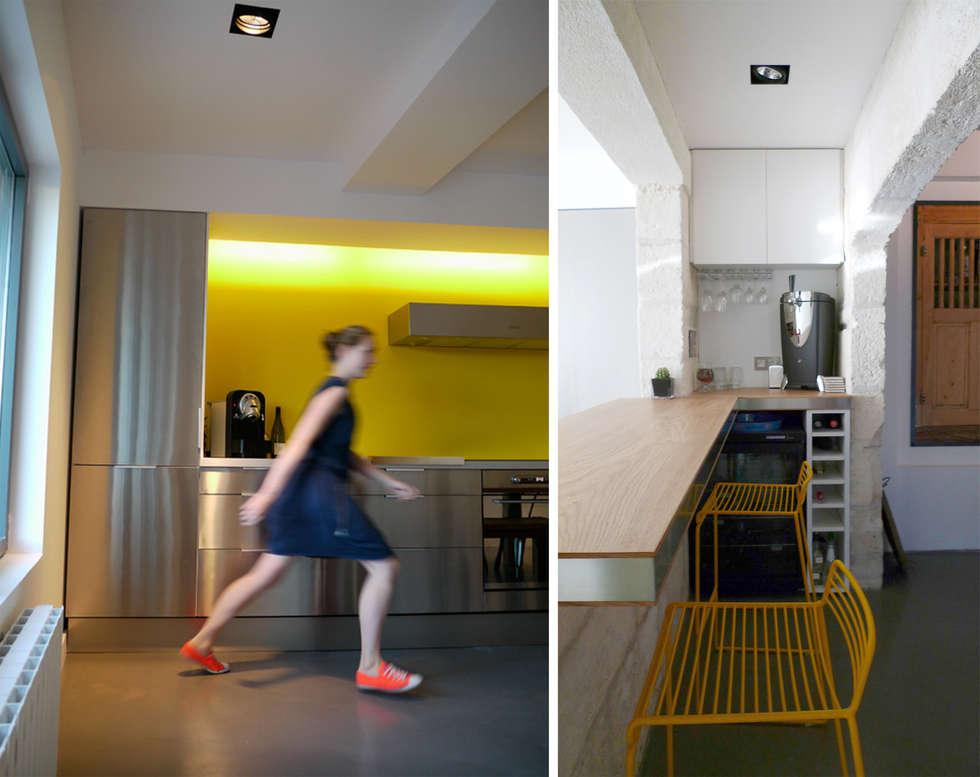 Casa AB : Maisons de style  par Sara de Gouy