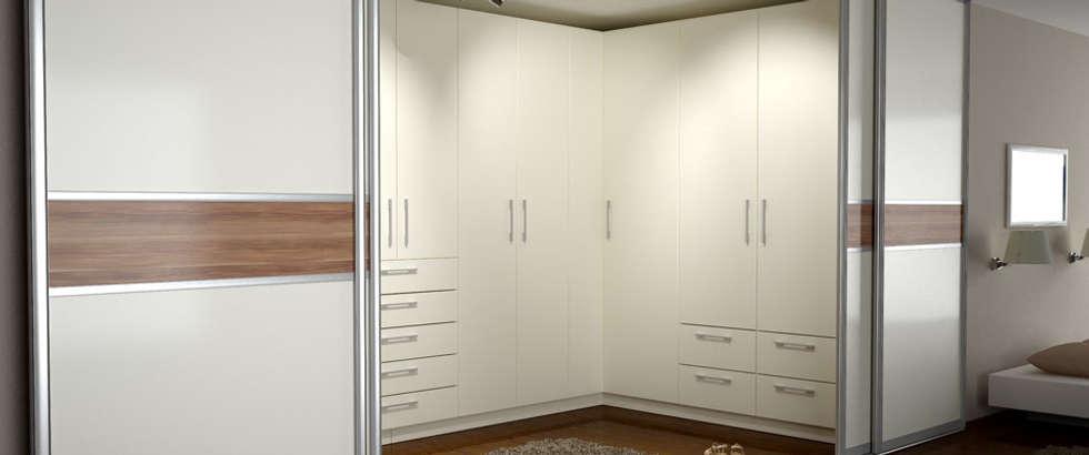 eckschrank mit schiebetren moderne schlafzimmer von deinschrankde gmbh - Schlafzimmer Mit Eckschrank