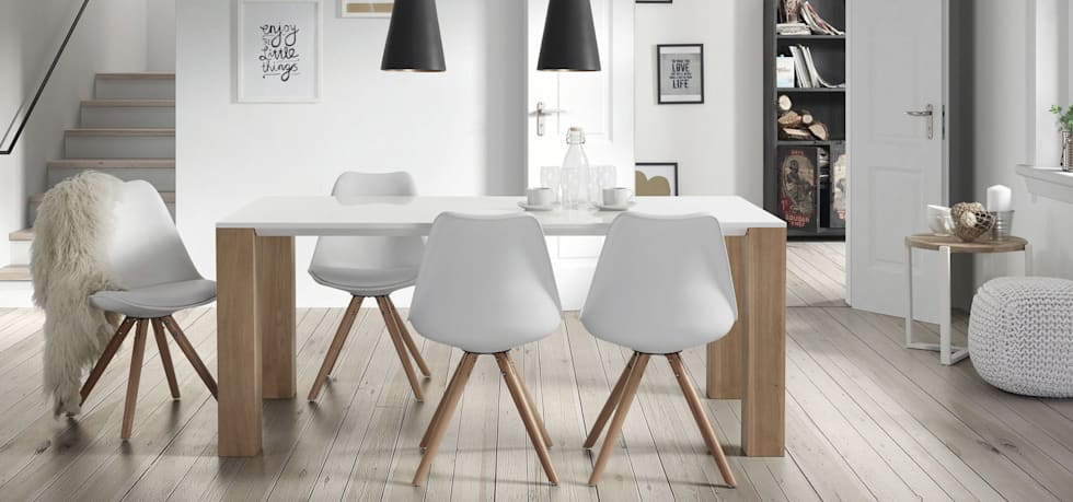 Salon salle a manger style scandinave for Salle a manger deco scandinave