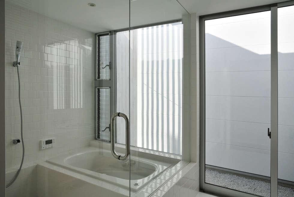 moderne Badezimmer von 島田博一建築設計室
