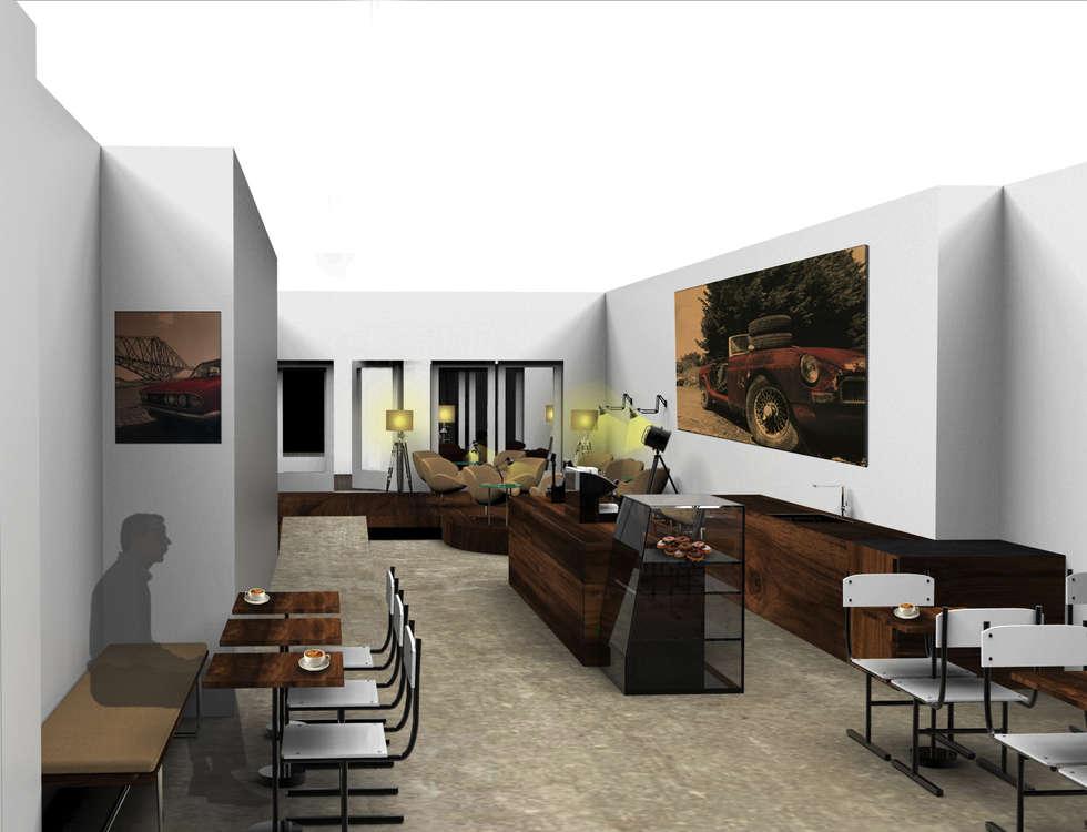 Eric's Coffee Lounge bar:  Bars & clubs door Alexander Claessen