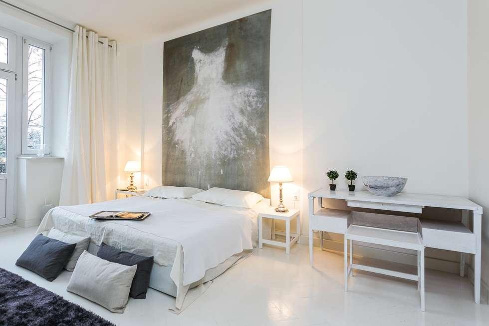 Fotografia wnętrz - portfolio: styl , w kategorii Sypialnia zaprojektowany przez Michał Młynarczyk Fotograf Wnętrz