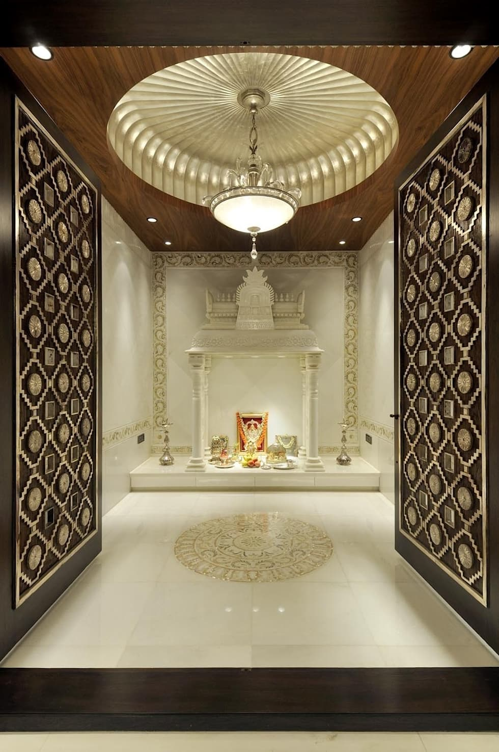 Mandir Designs In Living Room 10 Pooja Room Door Designs For Your Home