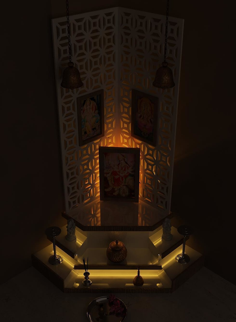 poojaroom:   by Drashtikon designer consultant (kamal maniya)