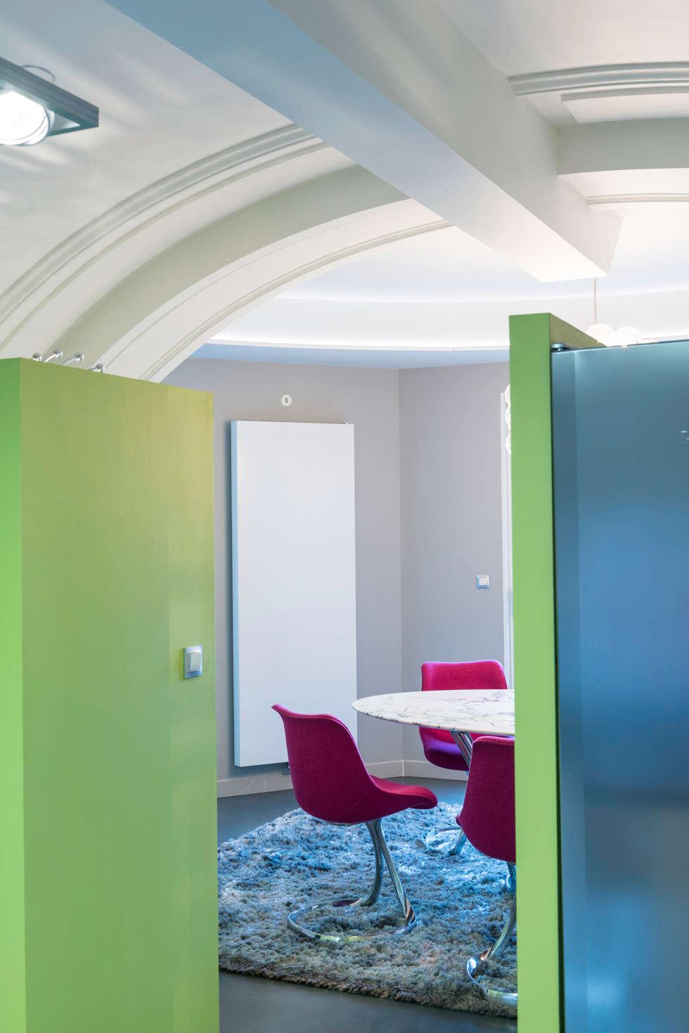 Accès Espace repas: Maisons de style de style eclectique par AGENCE JULIETTE VAILLANT ARCHITECTE