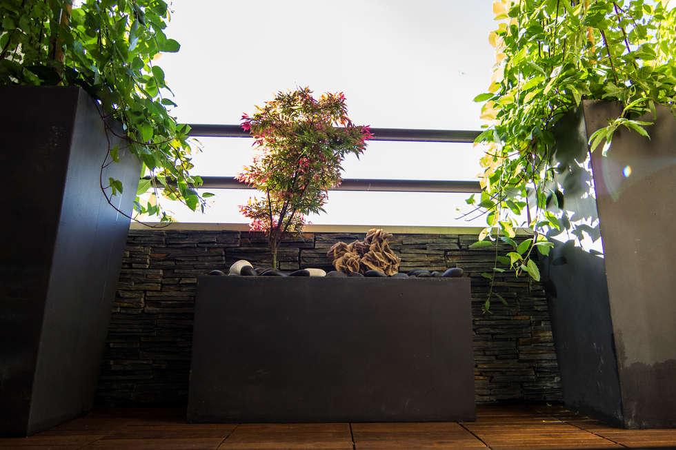 Terrasse: Terrasse de style  par Anne Martins Design