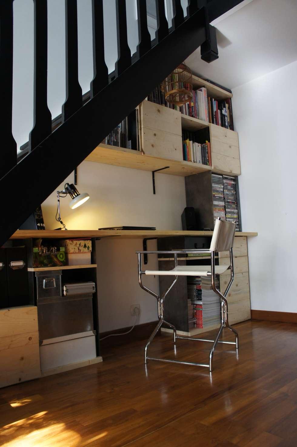 Duplex Lyon: Maisons de style de style Moderne par ETNO Architecture
