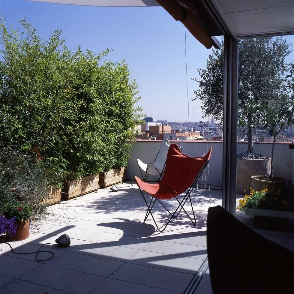 ÁTICO RUFINO BLANCO. Madrid:  de estilo  de Beriot, Bernardini arquitectos