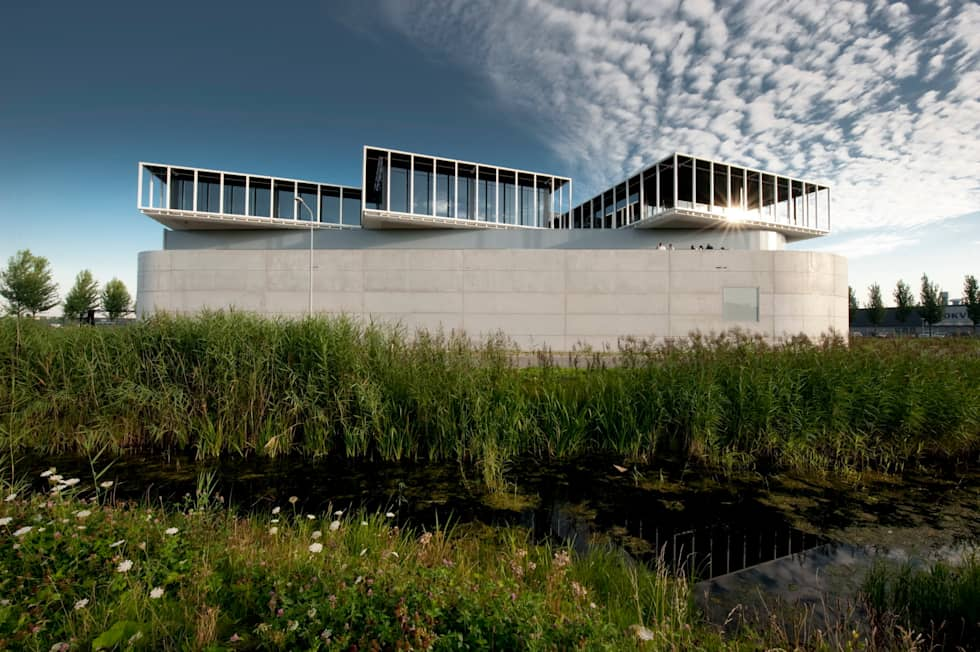 Scotch & Soda Offices and Company Hall:  Kantoorgebouwen door Dam & Partners Architecten