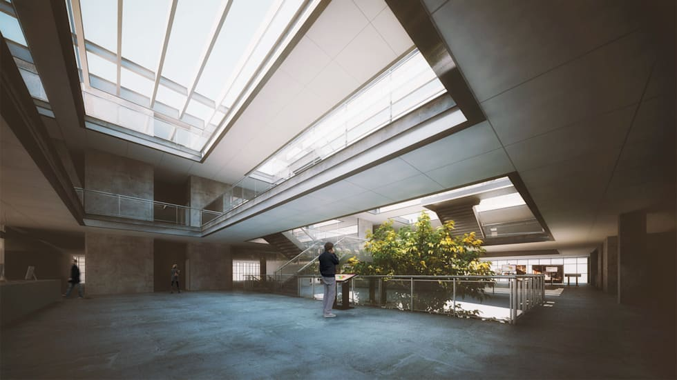 ANEXO CÂMARA MUNICIPAL DE PORTO ALEGRE: Edifícios comerciais  por AF Arquitetura