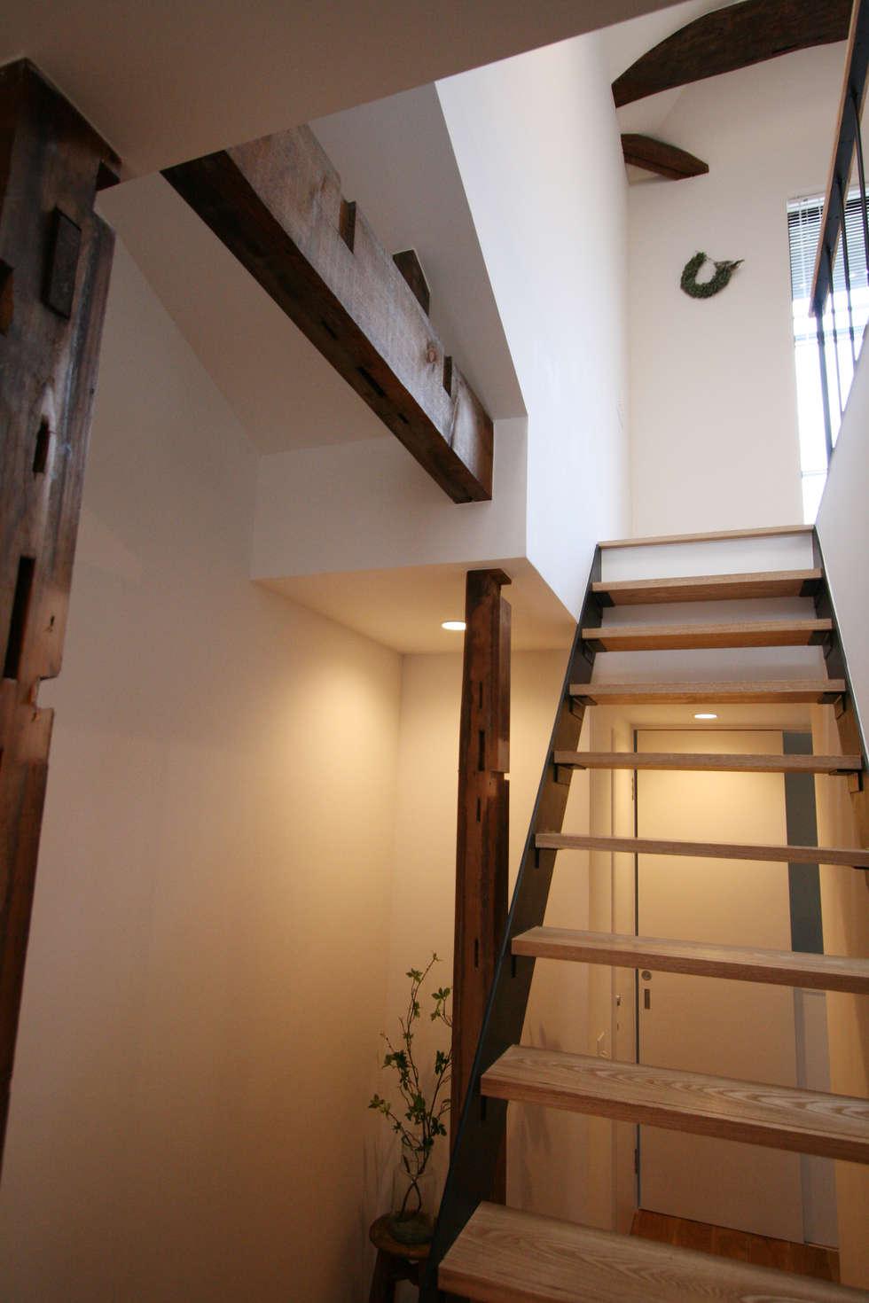 階段室: 一級建築士事務所expoが手掛けた家です。