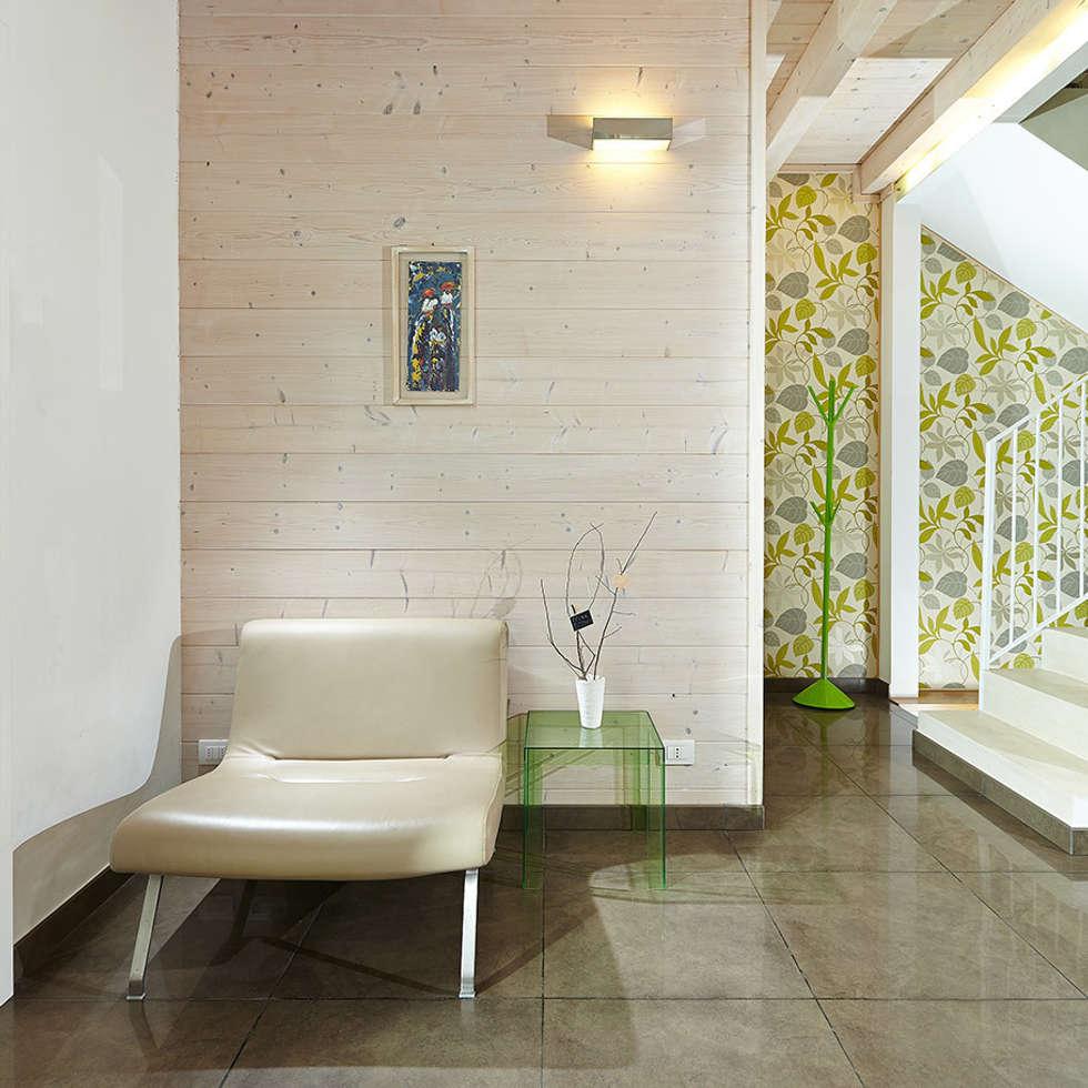 casa b+m: Case in stile in stile Minimalista di Filippo Martini Architetto