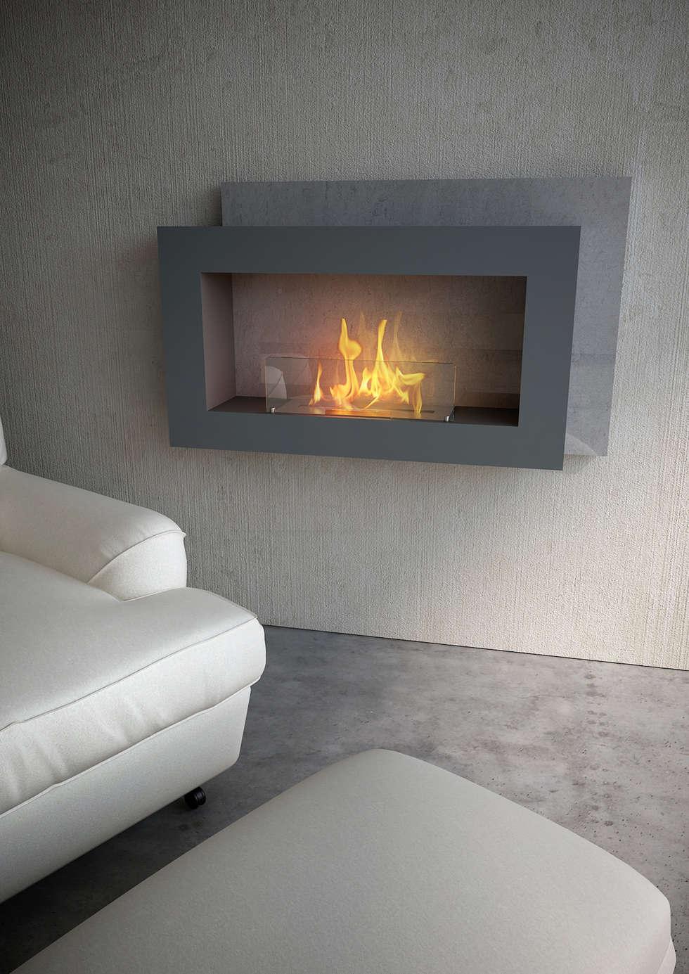 Salon de style de style Moderne par MaisonFire