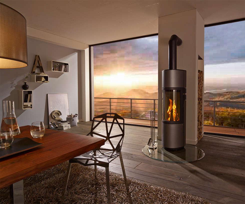 Idee arredamento casa interior design homify - Stufe a legna immagini ...