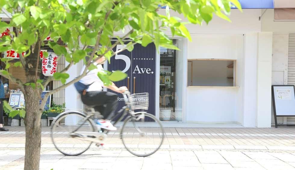 Oficinas y Tiendas de estilo  por SHUSAKU MATSUDA & ASSOCIATES, ARCHITECTS