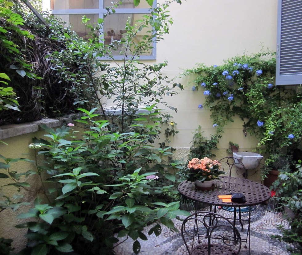 Architettura del verde: klasik tarz tarz Bahçe