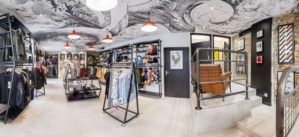 Espace Volcom Femme: Locaux commerciaux & Magasins de style  par CADYPSO