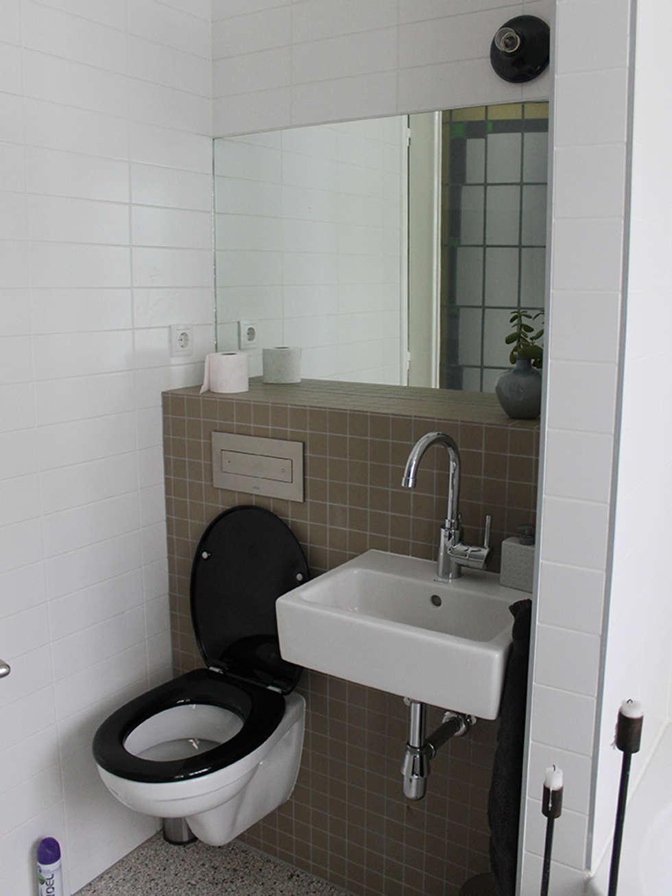 interieur woonhuis : moderne Badkamer door No Label