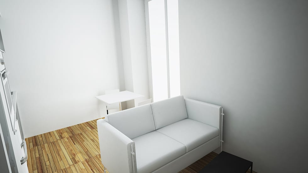 Studio Nantais: Chambre de style de style Moderne par Nicolas Houel