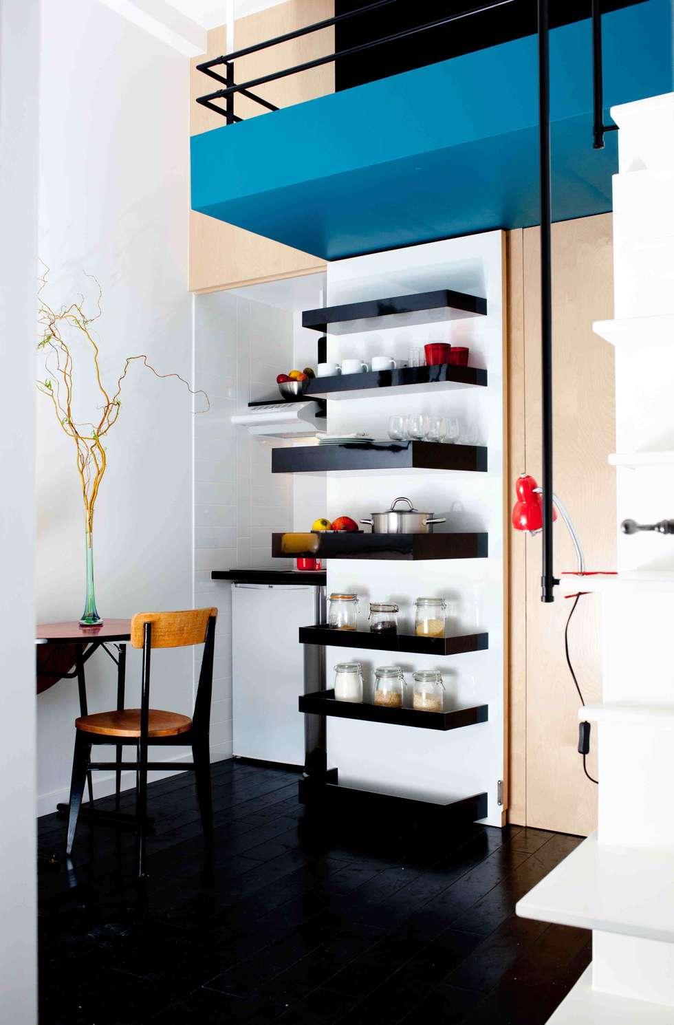 Mini cuisine: Cuisine de style de style Moderne par ESTELLE GRIFFE