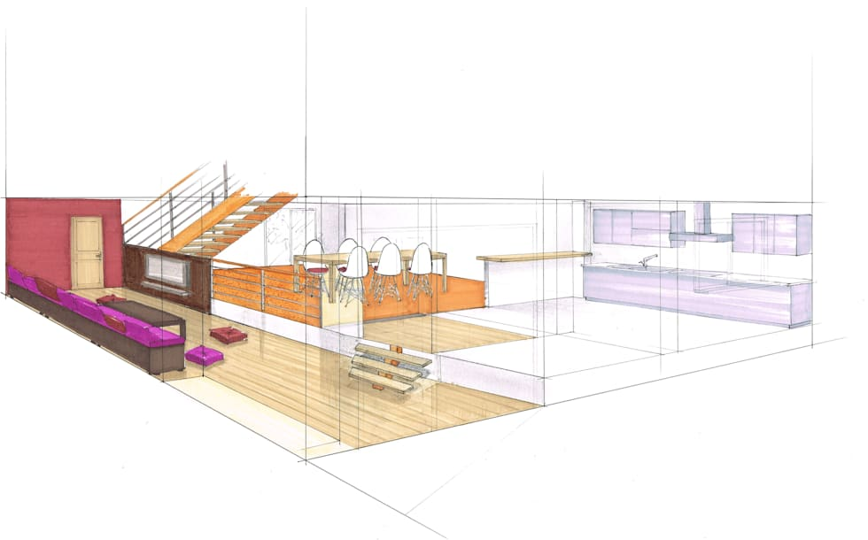 Transformation garage:  de style  par Urban log/in