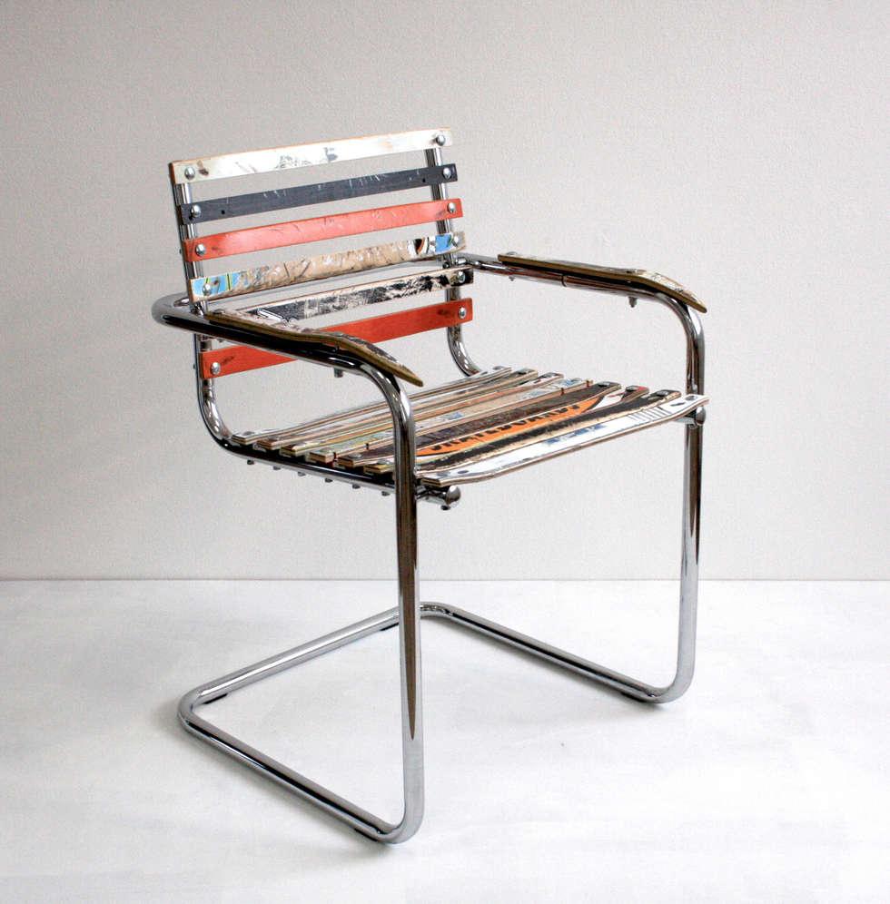 Wohnideen interior design einrichtungsideen bilder for Stuhl upcycling