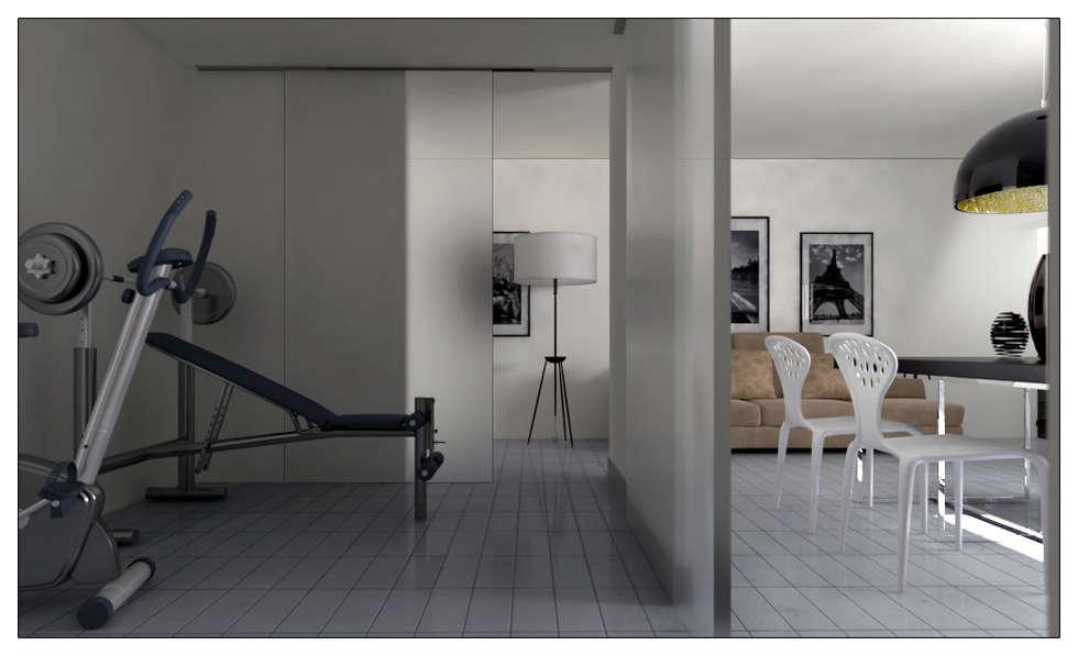 Modern Tavern: Garage/Rimessa in stile in stile Moderno di AG Interior Design