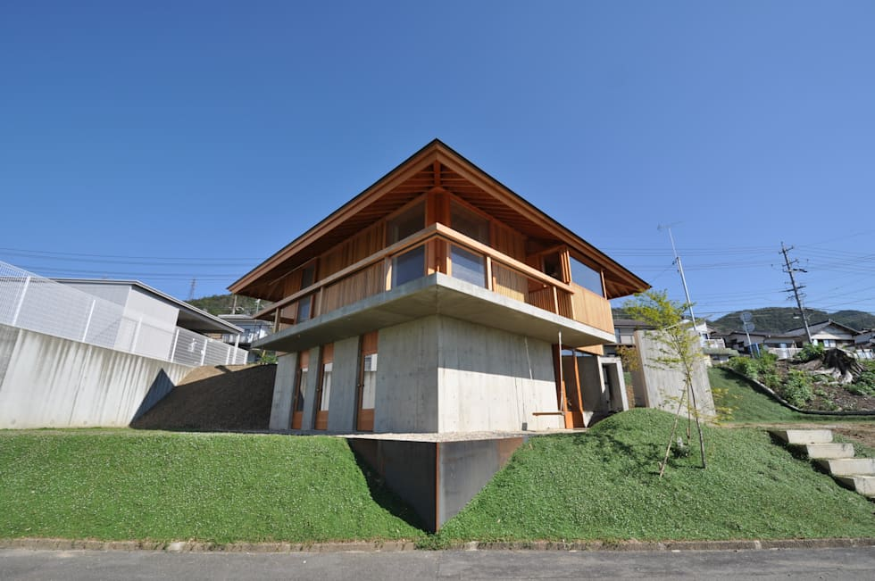鵜沼の家: 後藤耕太建築工房が手掛けた家です。