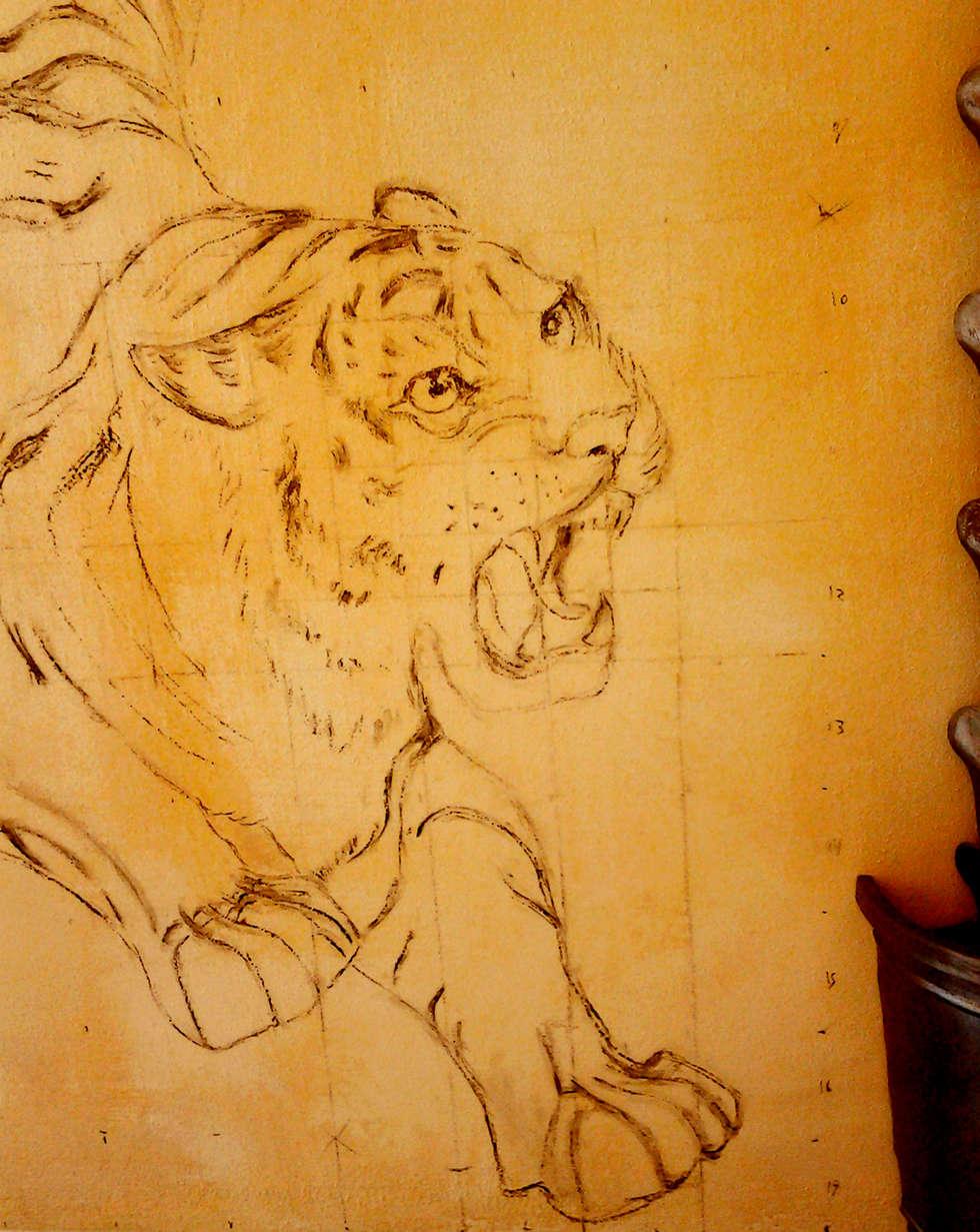 Tigre: Murs de style  par Zuritagordian